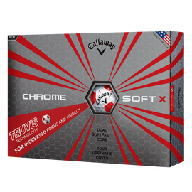 Chrome Soft X Truvis Golf Balls