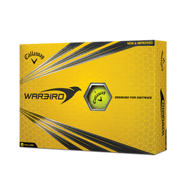 Warbird Yellow Golf Balls
