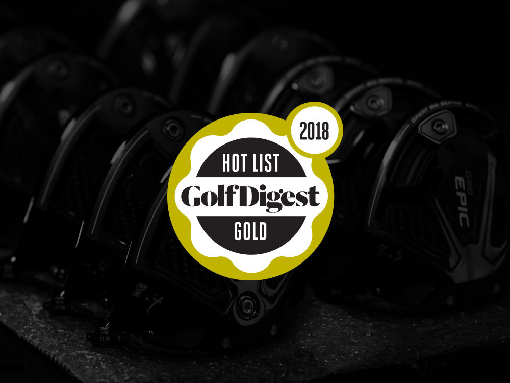 Callaway GBB Epic Sub Zero Driver 2018 Golf Digest Hot List Gold Badge