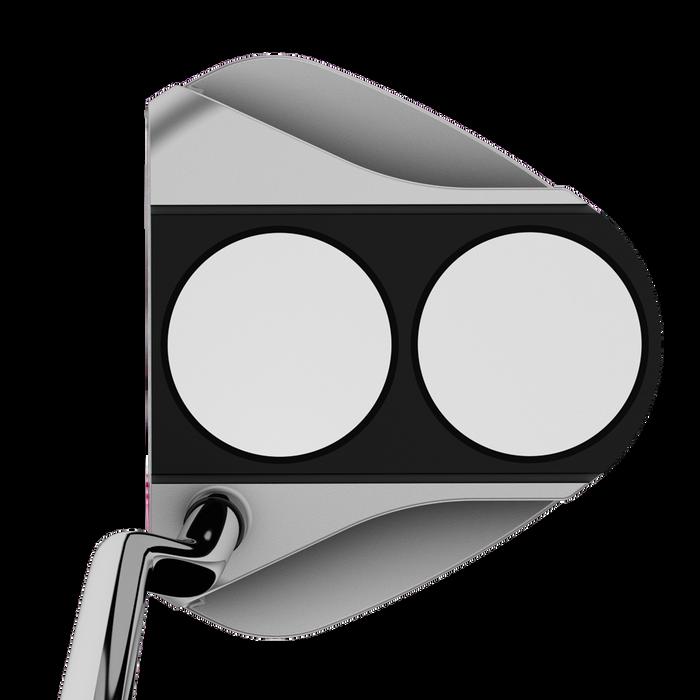 White Hot RX 2-Ball V-Line Putter für Damen
