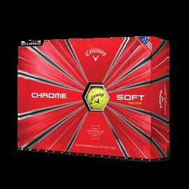 Der neue Chrome Soft Yellow Golfball