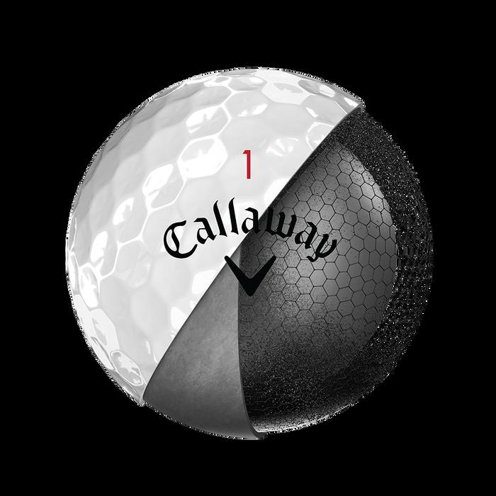 Der neue Chrome-Soft-X-Golfball