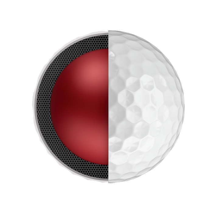 Der neue Chrome-Soft-Golfball
