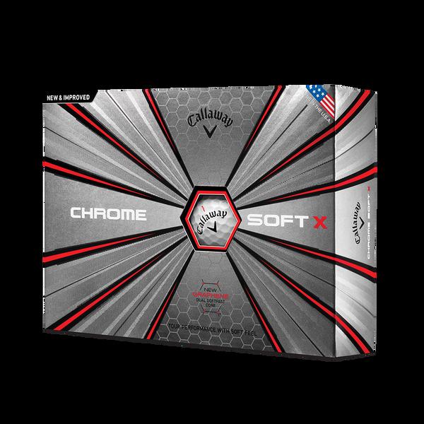 Der neue Chrome-Soft-X-Golfball Technology Item