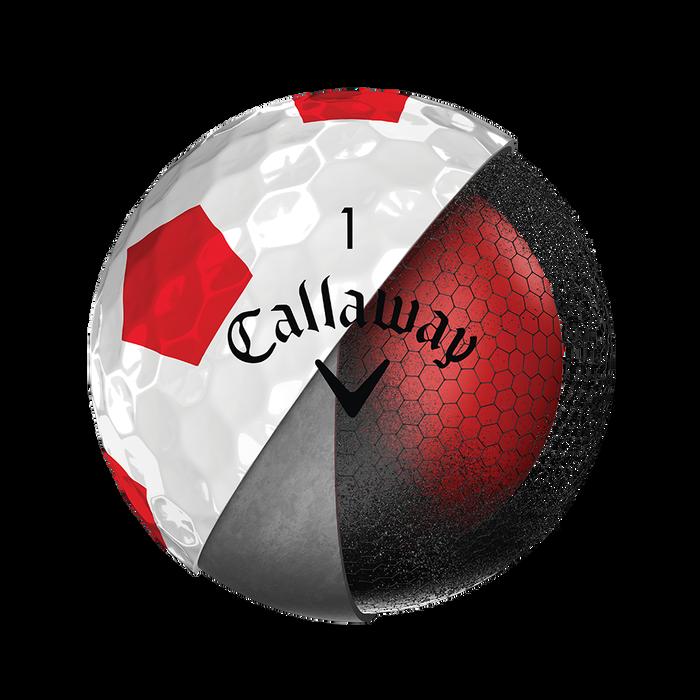 Der neue Chrome-Soft-Truvis-Golfball