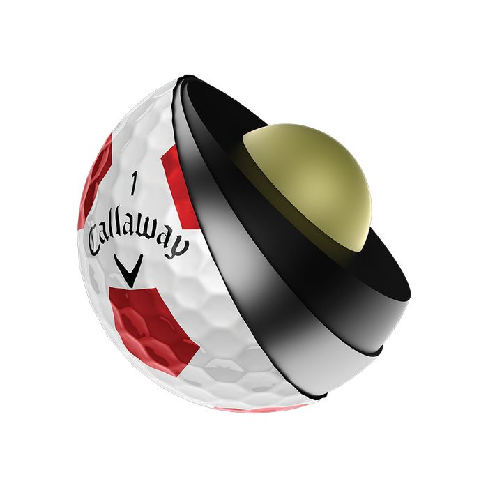 Der neue Chrome Soft X Truvis Red Golfball