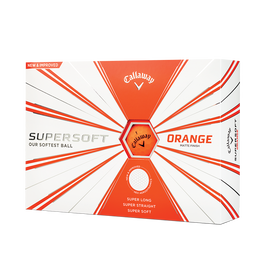 Callaway Supersoft Matte Orange Golf Balls