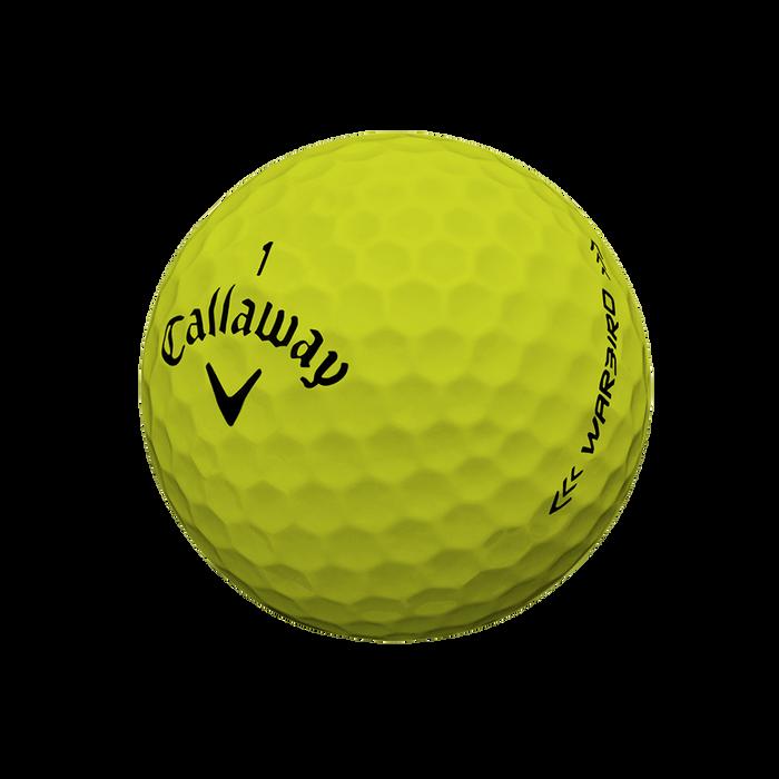 Warbird Yellow Golf Balls
