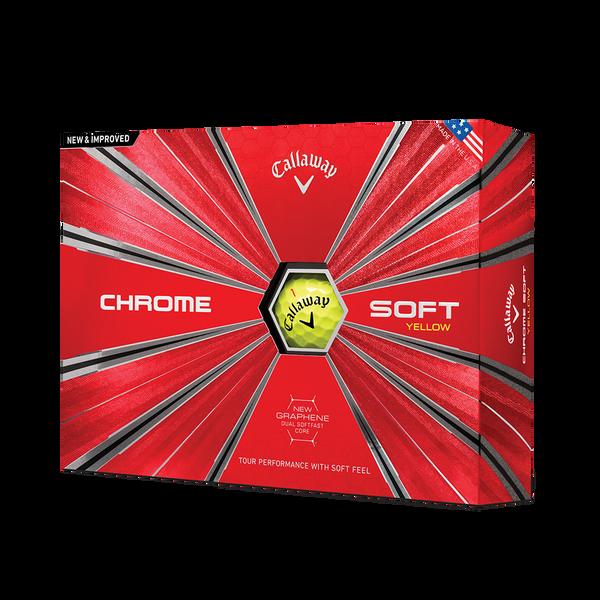 Der neue Chrome Soft Yellow Golfball Technology Item