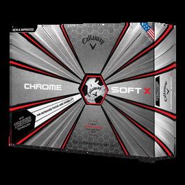 Der neue Chrome Soft X Truvis Black Golfball
