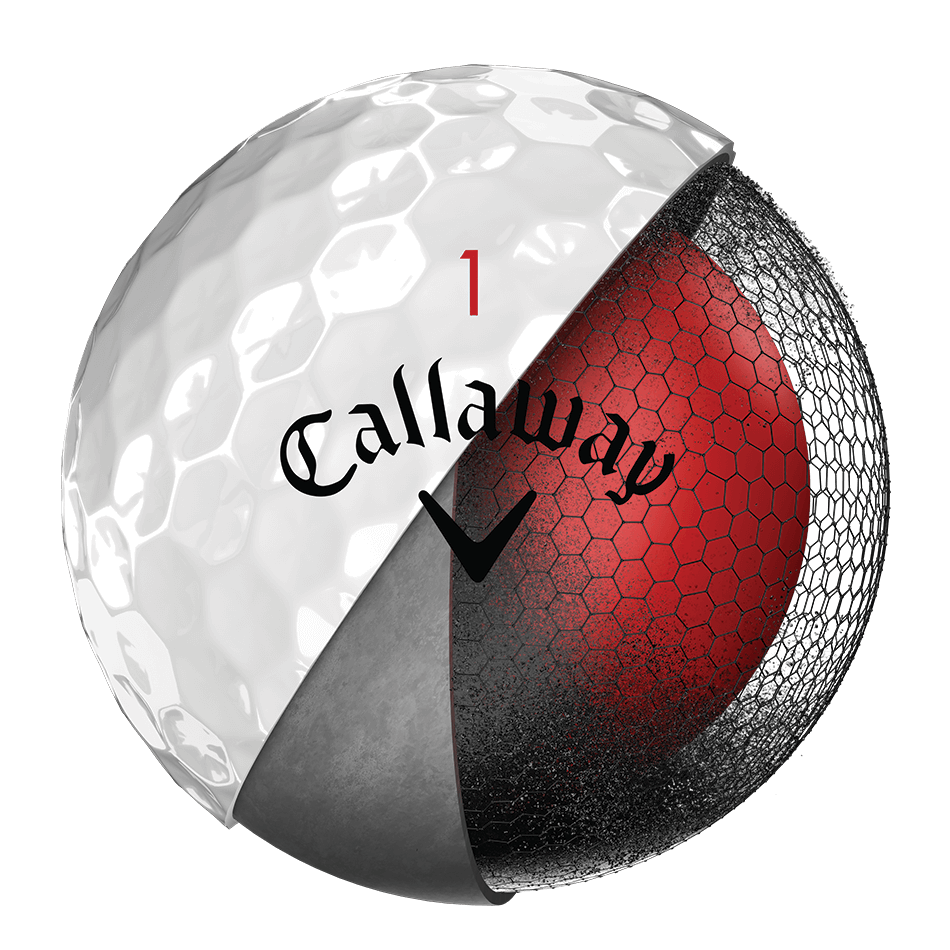 2018 Chrome Soft Golf Balls Technology Item