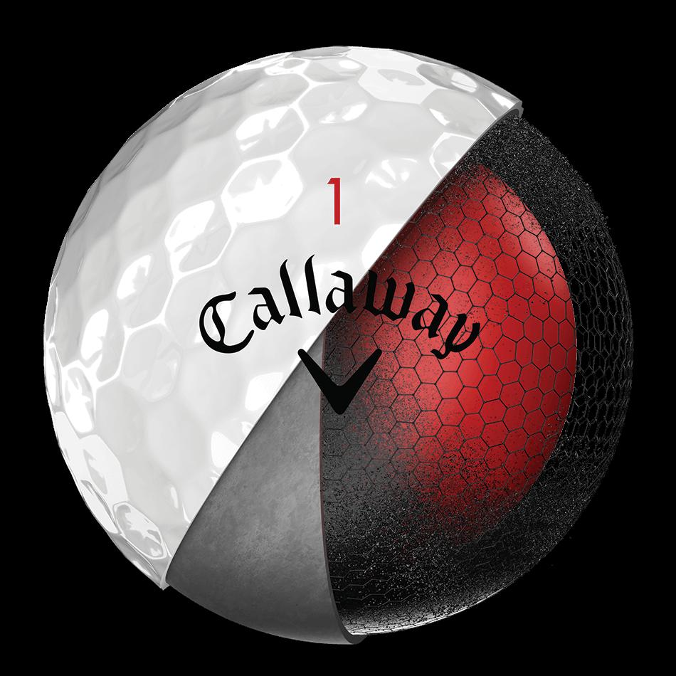 Der neue Chrome-Soft-Golfball Technology Item