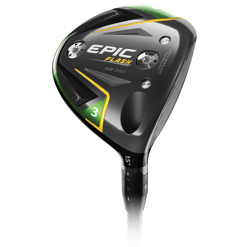 Epic Flash Sub Zero Fairway-Hölzer Technology Item
